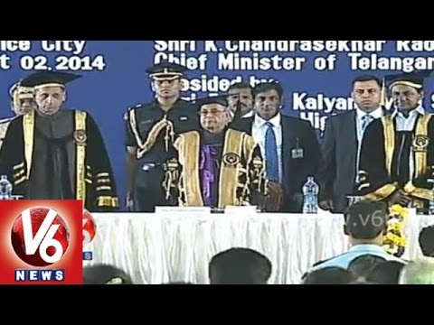 President Pranab Mukherjee attended to 12th Convocation of NALSAR University