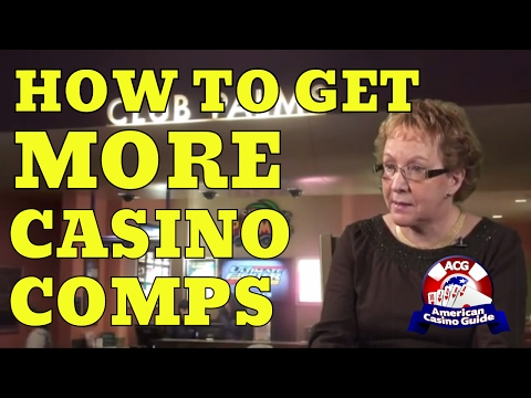 How to Get More Casino Comps with gambling author Jean 
