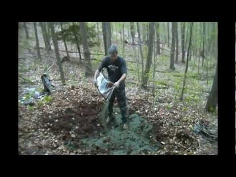 Creating a Mineral Pit for Deer