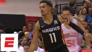 Trae Young Highlights: Seven 3s in 24-point Summer League performance vs. Bulls | ESPN