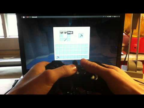 How to Play Minecraft with a Sixaxis PS3 Controller on Ubuntu