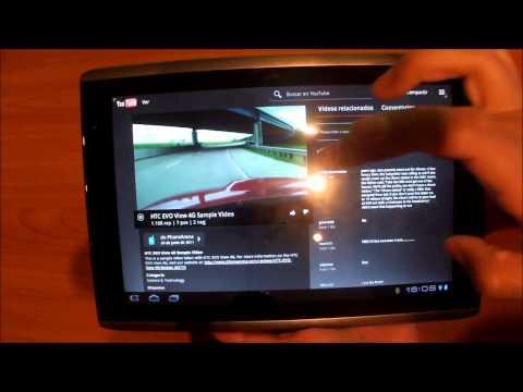 Review Acer Iconia Tab A500 en México parte 2