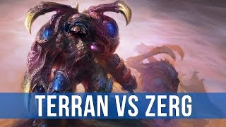 StarCraft 2: Legacy of the Void - Terran vs Zerg!