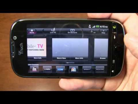 Video: T-Mobile myTouch 4G Review Part 2