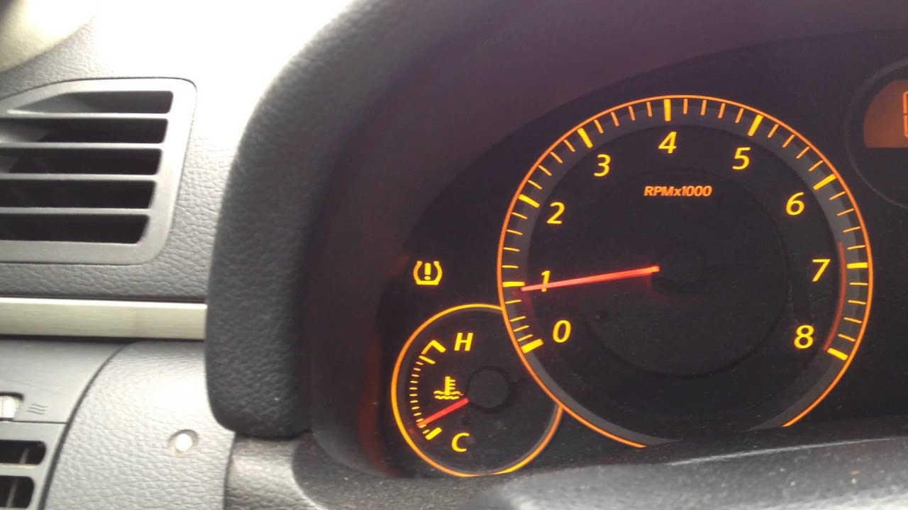 Infiniti G35 TPMS Code reading - YouTube