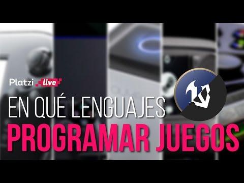 Con qué lenguajes de programación se desarrollan videojuegos
