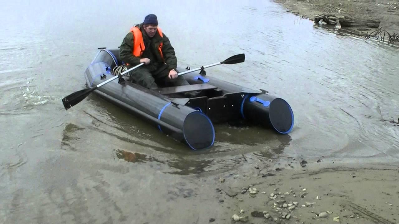 Лодки из водопроводных труб своими руками