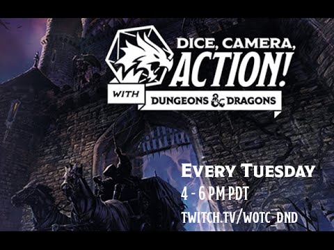 Episode 1 - Dice, Camera, Action with Dungeons & Dragons