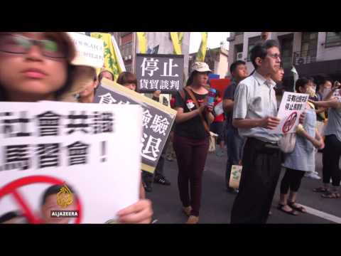 China-Taiwan: Historic meeting of leaders
