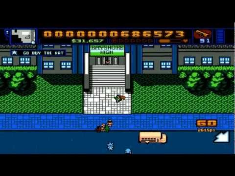 Retro City Rampage PC 1080P HD Playthrough - PT. 22