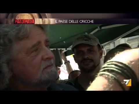 Piazzapulita – 15/09/11 – Beppe Grillo, la casta e l'antipolitica