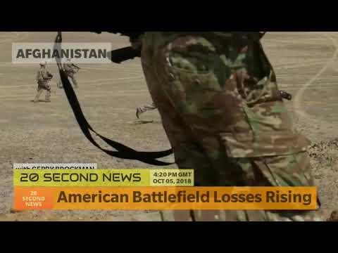 American Battlefield Losses Rising - Afghanistan Breaking NEWS Today
