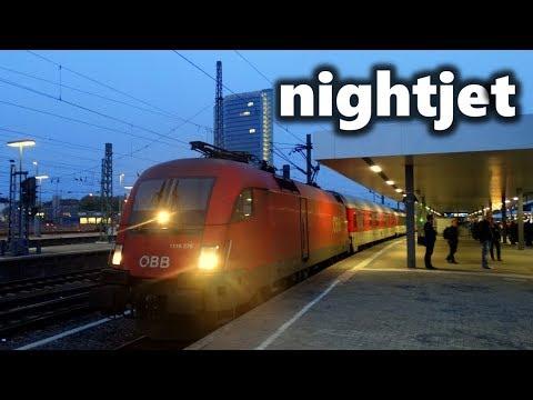Nightjet buchen