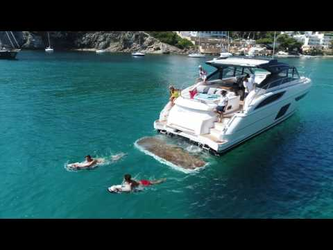 Quality time in Ibiza on a beautiful Princess V58 Open
