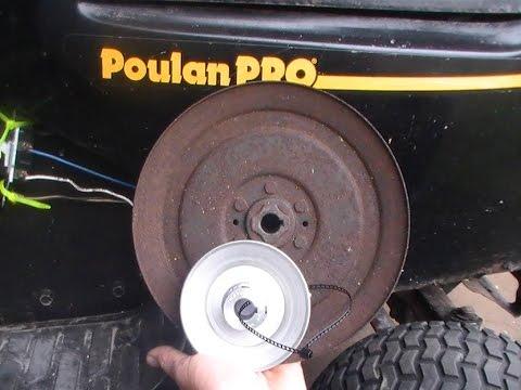 Poulan Pulley Swap