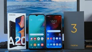 Realme 3 VS Samsung A20 - Mana Yang Lebih Baik?