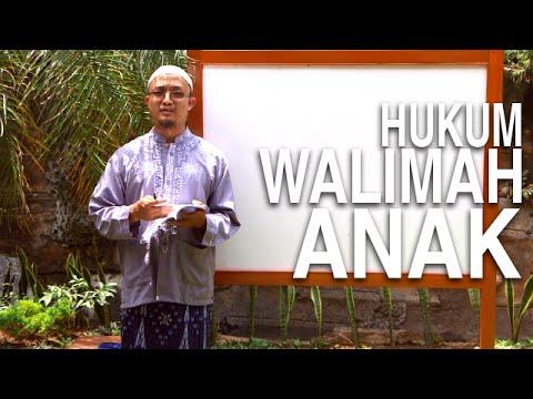 Serial Kajian Anak (17): Hukum Walimahan Setelah Kelahiran - Ustadz Aris Munandar