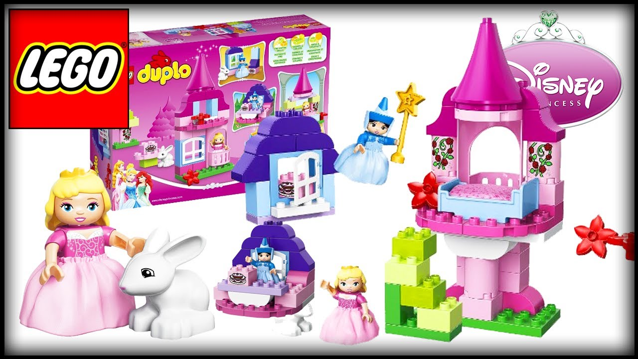 lego disney princess sleeping beauty 39 s fairy tale unboxing lego toys for girls youtube. Black Bedroom Furniture Sets. Home Design Ideas