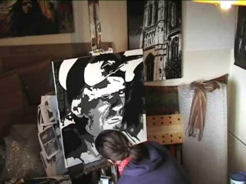 THE IMAGINARIUM OF DOCTOR PARNASSUS Heath Ledger SPEED PAINTING - Stephen Quick