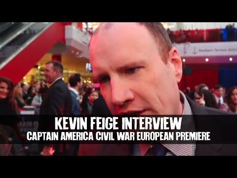Kevin Feige Interview CAPTAIN AMERICA CIVIL WAR European Premiere
