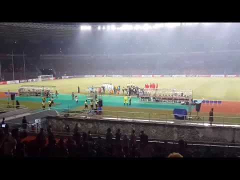 Indonesia National Anthem ( Lagu Indonesia Raya ) Indonesia Vs Korea Selatan Qual. Aff-19 video