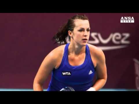 Tennis: nella Wta sale solo Karin Knapp - ANSA