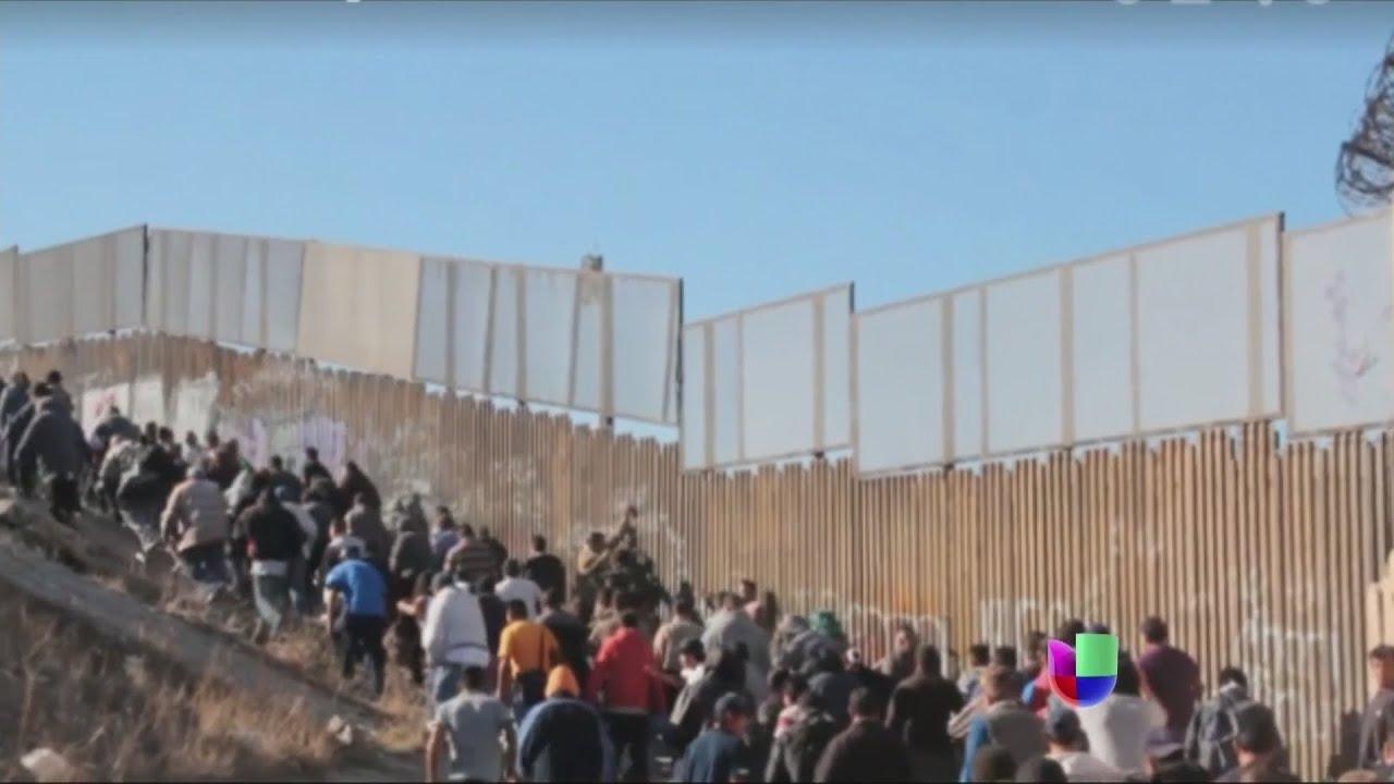 ¿Cruce de película en la frontera hacia Estados Unidos