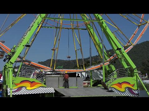 Marin County Fair 2009 Cool Green Fun Ferris Wheel Time Lapse