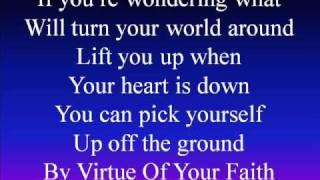 Watch Billy Gilman By Virtue Of Your Faith video