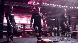 NXT training at WWE Performance Center Sept 2014