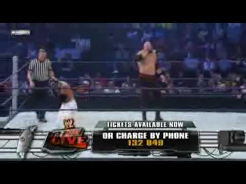 WWE Smackdown! (7-3-2009) Kane vs. Rey Mysterio [Part 1/2]