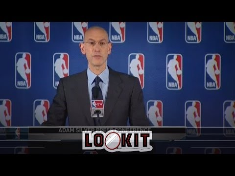 Supercut: NBA benches react to Adam Silver's ban of Donald Sterling (#LOOKIT)