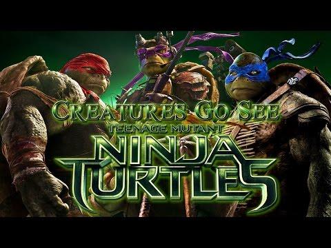 Creatures Go See Teenage Mutant Ninja Turtles