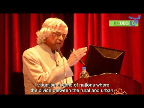 Dr. Apj Abdul Kalam's Speech At Iit Bombay video