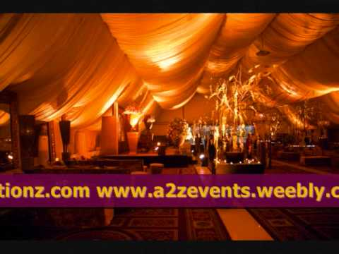 New Styles of Weddings Barat Walima Mehndi Setups By A2Z Events...