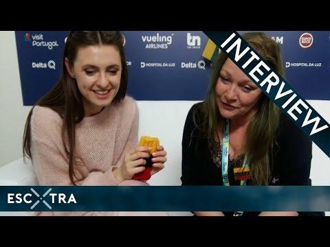 LIVE INTERVIEW: Ieva ZasimauskaitÄ— (Lithuania 2018) // ESCXTRA.com