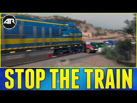 Forza Horizon 3 Online : Stop The Train!!! [Let's Fail]