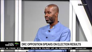 DRC opposition speaks on election results