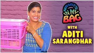 What's In My Bag - ft. Aditi Sarangdhar | Harshada Bane | H M Bane T M Bane | Sony Marathi