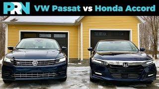 Volkswagen Passat vs Honda Accord | TestDrive Showdown