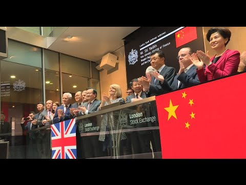 China's Sovereign Yuan Bond Listed in London