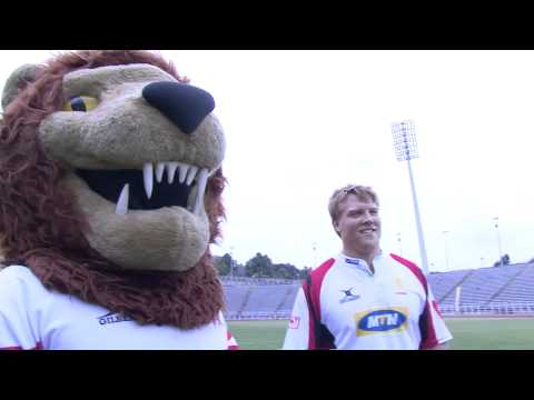 SA radio jock gets tackled by the Golden Lions. - SA radio jock gets tackled by the Golden Lions.