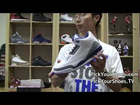 Air Jordan Retro 3 True Blue