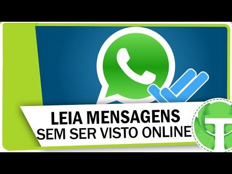 Como ler mensagens do WhatsApp sem ser visto online