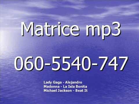 Matrice Mp3  Lady Gaga-alejandro   Madonna-la Isla Bonita    Michael Jackson-beat It video