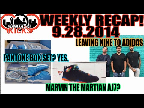 Pantone AJ11 Pack, Marvin AJ7, Nike Designers Go adidas (Collectivekicks Weekly Video Recap 9.28.14)