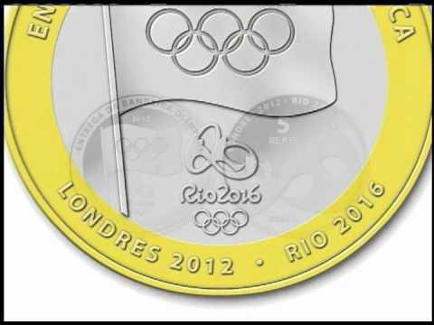 Banco Central lança em agosto moedas de R$ 1 e R$ 5 em homenagem aos Jogos Olímpicos