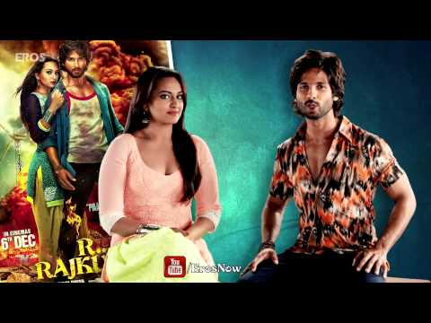 Shahid Kapoor & Sonakshi Sinha Invites You To Watch All The Latest Videos Of 'R...Rajkumar'
