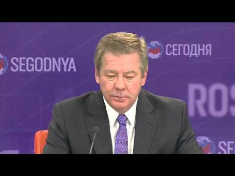 Пресс-конференция Геннадия Гатилова в Россия Сегодня