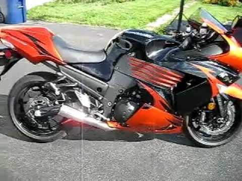 2009 Kawasaki Ninja ZX-14 Brock's Exhaust Video